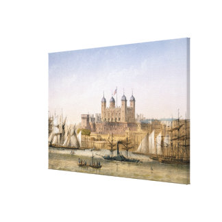 Torre de Londres, c.1862 (litho del color) Impresión En Tela