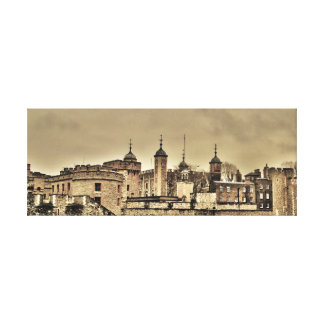 Torre de Londres Lienzo Envuelto Para Galerias