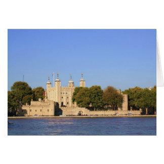 Torre de Londres Tarjeta De Felicitación