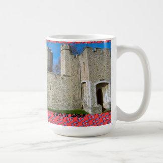 Torre de Londres Taza Básica Blanca