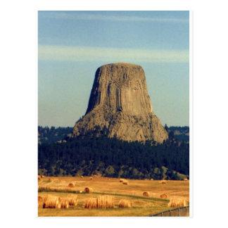 Torre de los diablos en Wyoming Postal