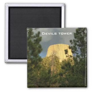 Torre de los diablos - imán