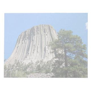 Torre de los diablos, Wyoming Bloc De Papel