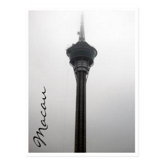 torre de Macao alta Tarjetas Postales