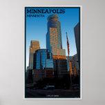 Torre de Minneapolis - de Capella Póster