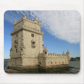 """""""Torre de mousepad de Belem, Lisboa"""""""