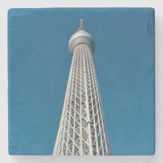 Torre de observación de Tokio Skytree Posavasos De Piedra