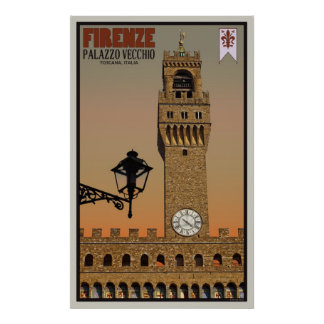 Torre de Palazzo Vecchio Posters