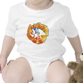 Torre de perforación el logotipo de la rueda de traje de bebé