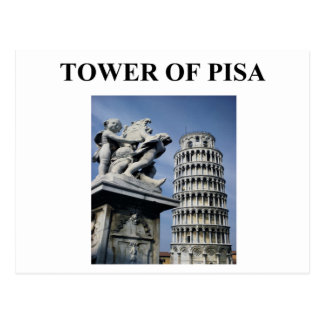 torre de Pisa Italia Postales