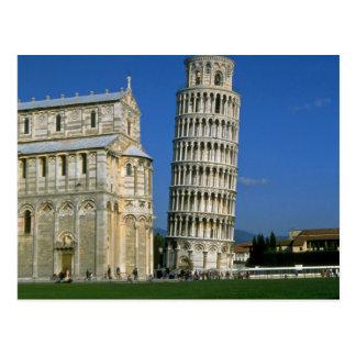 Torre de Pisa, Italia Tarjeta Postal