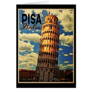 Torre de Pisa ltaly Felicitaciones