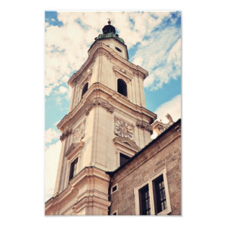 Torre de reloj arte con fotos