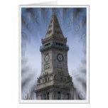 Torre de reloj de aduanas felicitacion