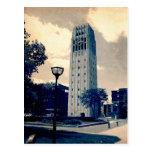 Torre de reloj de Ann Arbor Tarjetas Postales