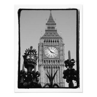 Torre de reloj de Big Ben en el palacio de Westm Impresiones Fotograficas