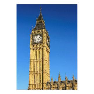 Torre de reloj de Big Ben, Londres Tarjeta De Visita