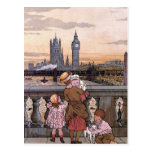 """Torre de reloj de Big Ben, Londres "" Tarjetas Postales"