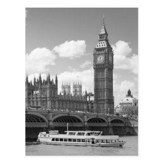 Torre de reloj de Big Ben Londres Tarjeta Postal
