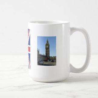 Torre de reloj de Big Ben Londres Taza Clásica