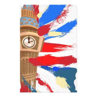 Torre de reloj de Big Ben Westminster Papelería