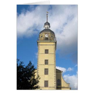Torre de reloj de Düsseldorf, Alemania Tarjeta De Felicitación