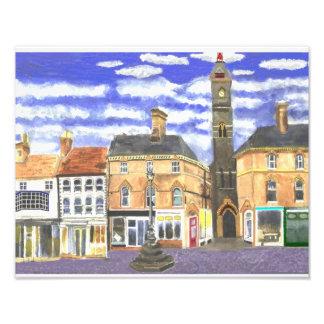 Torre de reloj de Louth Lincs Fotografias