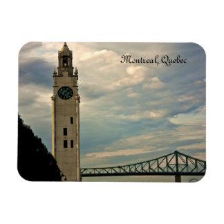 Torre de reloj de Montreal Imanes Flexibles