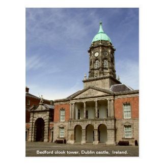Torre de reloj del castillo Irlanda - de Bedford d