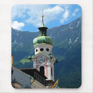Torre de reloj en Innsbruck Mousepad
