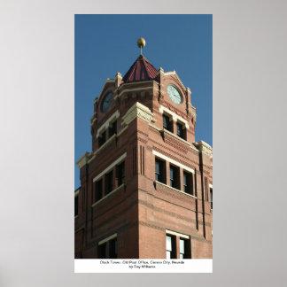 Torre de reloj, la oficina de correos vieja, Carso Impresiones