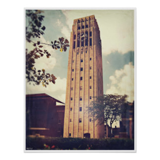 Torre de reloj posters
