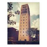 Torre de reloj tarjetas postales