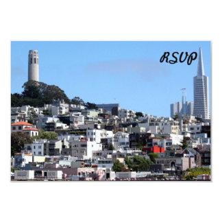 """Torre de San Francisco Coit Invitación 3.5"""" X 5"""""""