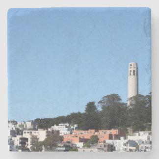 Torre de San Francisco Coit Posavasos De Piedra