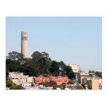 Torre de San Francisco Coit Postales