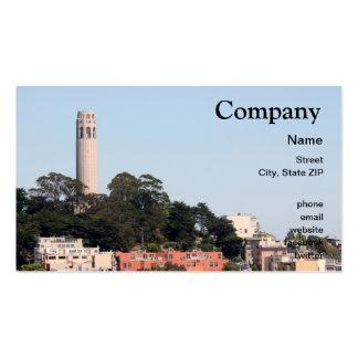Torre de San Francisco Coit Tarjetas De Visita