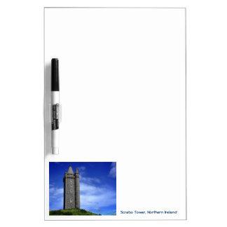 Torre de Scrabo Pizarras Blancas De Calidad