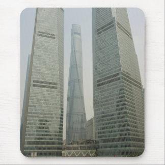 Torre de Shangai - Lujiazui, Pudong - Shangai, Alfombrillas De Raton