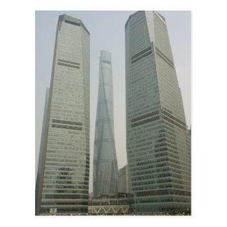 Torre de Shangai - Lujiazui, Pudong - Shangai, Tarjeta Postal