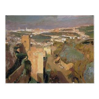 Torre de siete, pont Alhambra de Joaquín Sorolla- Postales