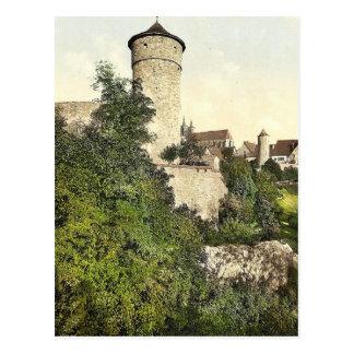 Torre de Straft, Rothenburg (es decir der Tauber), Postal