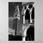 Torre de Venecia San Marco y palacio del dux Posters