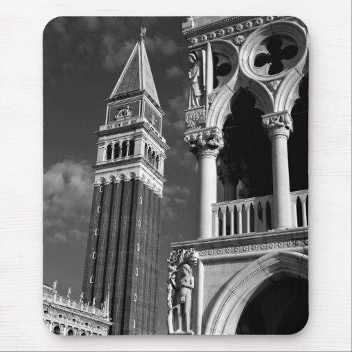 Torre de Venecia San Marco y palacio del dux Alfombrillas De Ratón