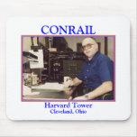 Torre de ZAZ111.BHK.Harvard, CONRAIL, Harvard Towe Alfombrillas De Ratón