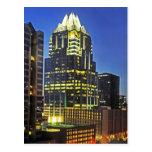 Torre del banco de Frost, Austin, Tejas, los E.E.U Postales
