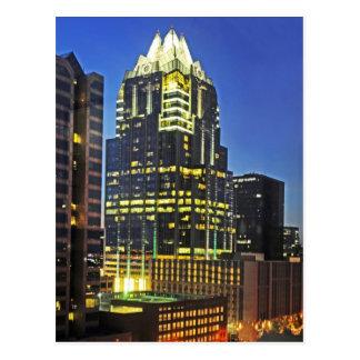 Torre del banco de Frost, Austin, Tejas, los E.E.U Tarjetas Postales