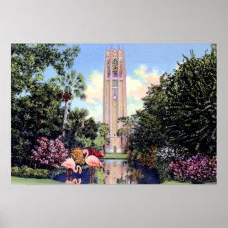 Torre del canto de País de Gales la Florida Bok de Poster