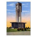 Torre del canto de Sioux City Iowa Tarjetón