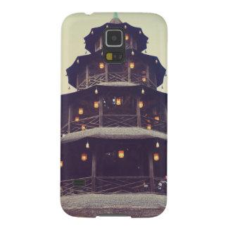 Torre del chino de Munich Fundas De Galaxy S5